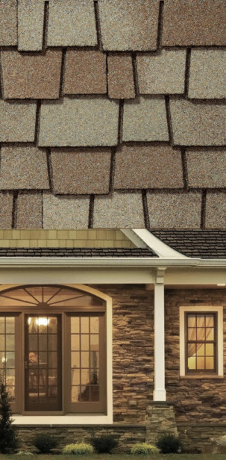 Designer architectural shingles provide a unique look for your home.